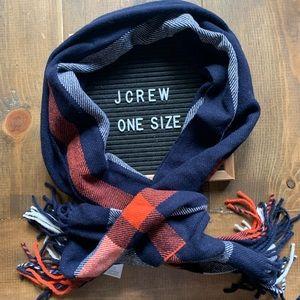 J. Crew 100% wool scarf